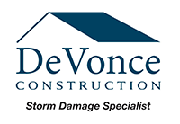 DeVonce Construction - Hail and Storm Damaged Roof Repairs and Roof Replacements